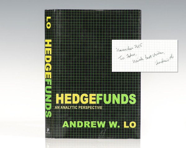 Hedge Funds: An Analytic Perspective.