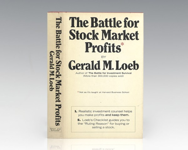 The Battle for Stock Market Profits [Not the Way It's Taught at Harvard Business School].