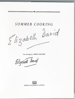 Summer Cooking.