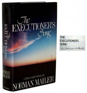 Signed First Edition of Norman Mailer's The Executioner's Song