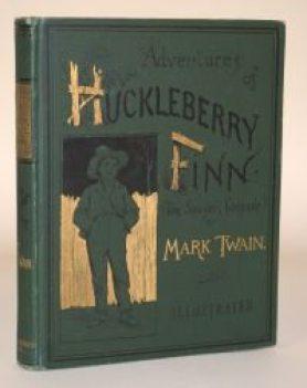 The Adventures of Huck Finn first edition