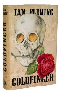 James Bond Goldfinger First Edition Dust Jacket