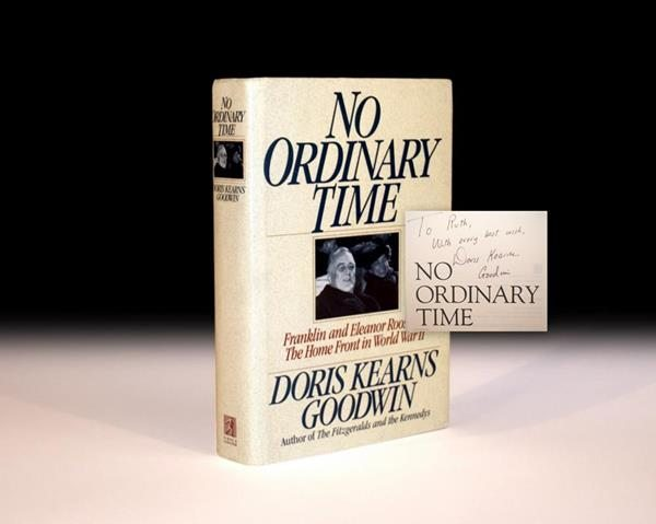 First Edition of No Ordinary Time by Doris Kearns Goodwin, Rare Book, Roosevelts