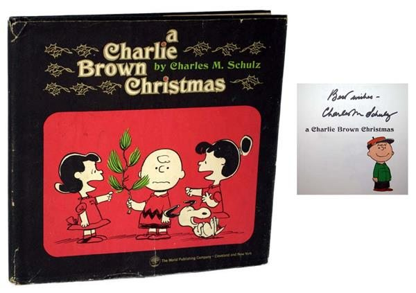 """First Edition of """"A Charlie Brown Christmas"""" by Charles Shulz"""