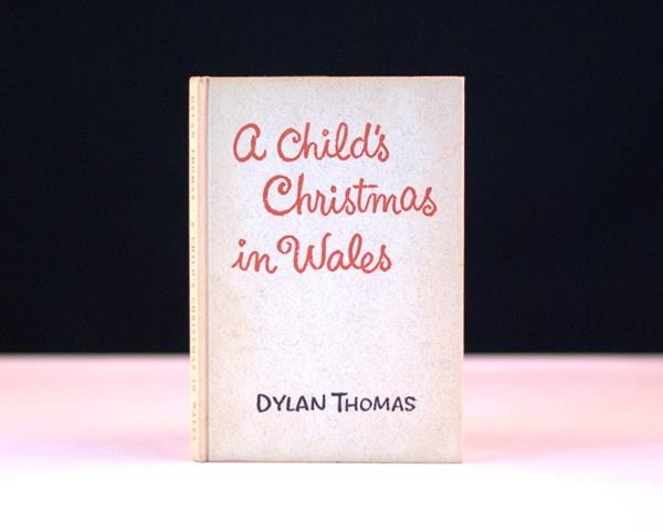 """First Edition of """"A Child's Christmas in Wales"""" by Dylan Thomas"""