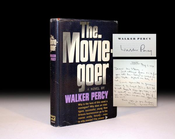 The Moviegoer by Walker Percy rare first edition