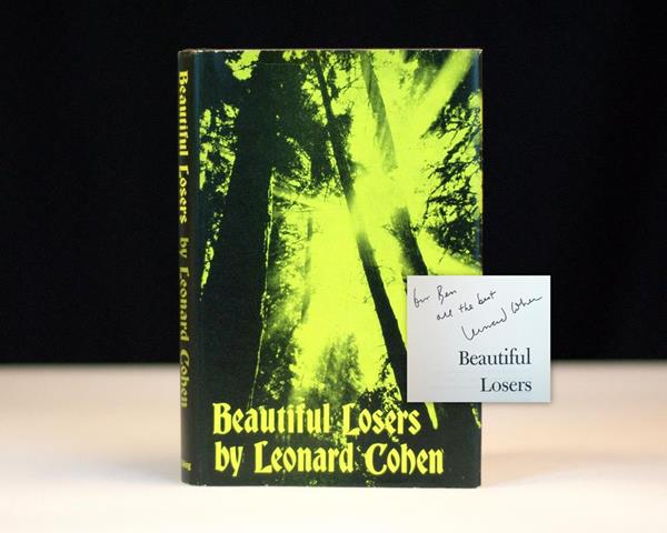 Beautiful Losers by Leonard Cohen rare first edition