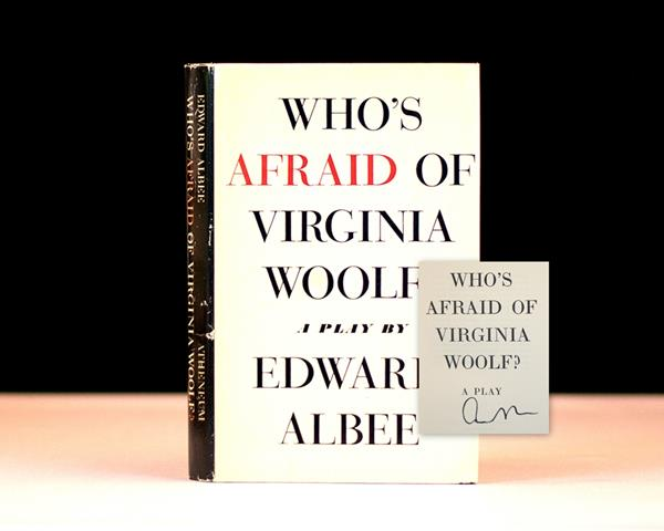 Who's Afraid of Virginia Woolf? by Edward Albee Rare First Edition
