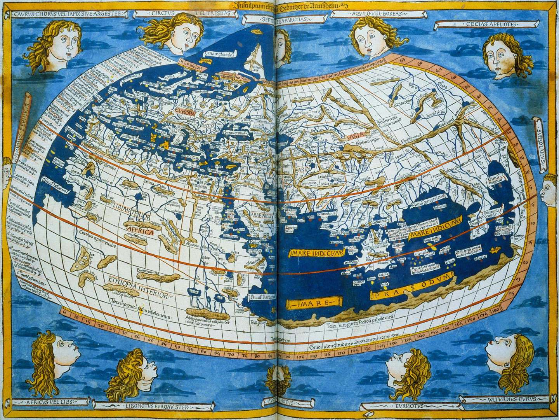 Ptolemy's Geographia rare maps