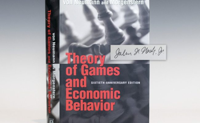 Theory Of Games And Economic Behavior John Nash First