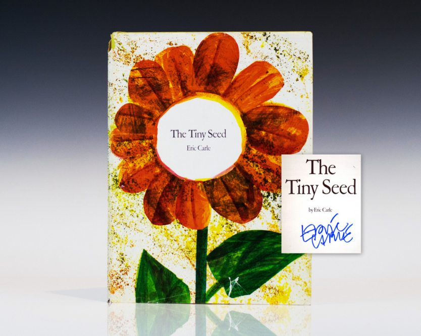 the-tiny-seed-eric-carle-first-edition-signed
