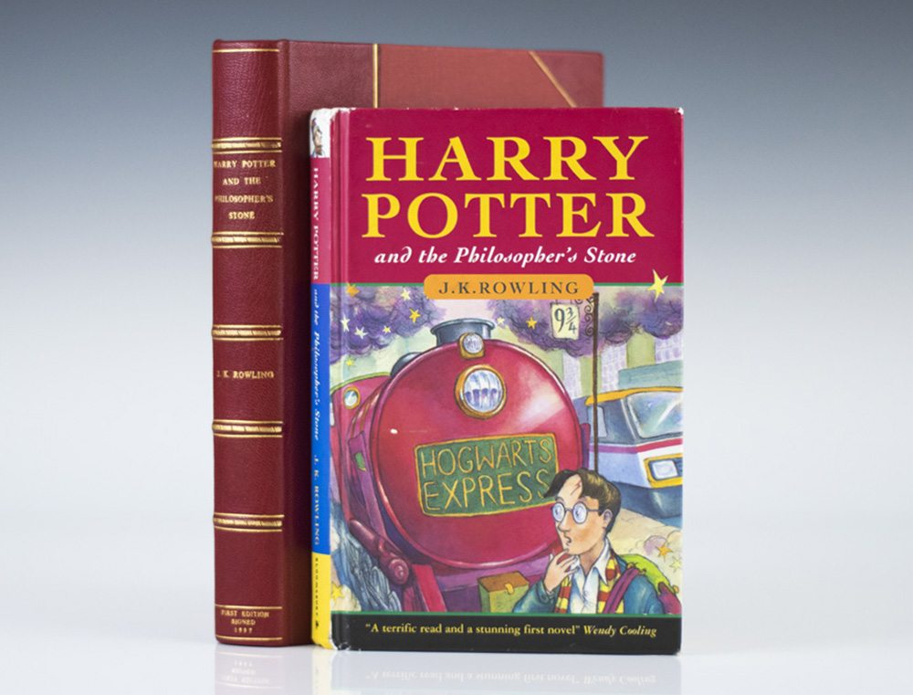 First Edition, First Printing of Harry Potter and the Philosopher's Stone