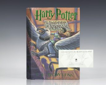 First Edition of Harry Potter and the Prisoner of Azkaban; Signed by J.K. Rowling