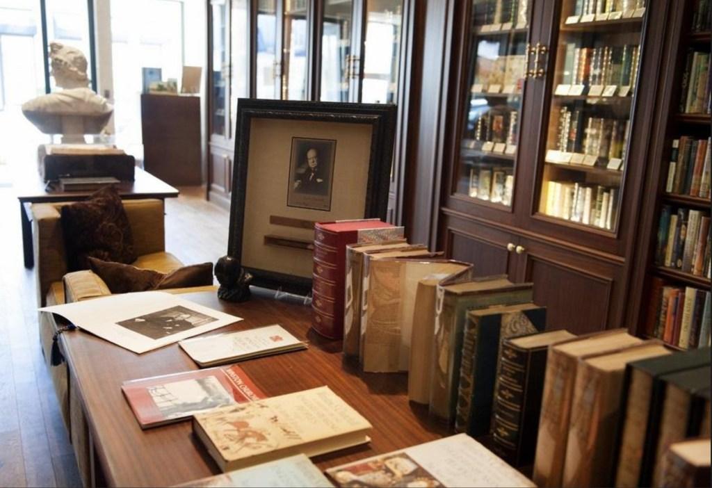 Raptis Rare Books Churchill Exhibition May 2020
