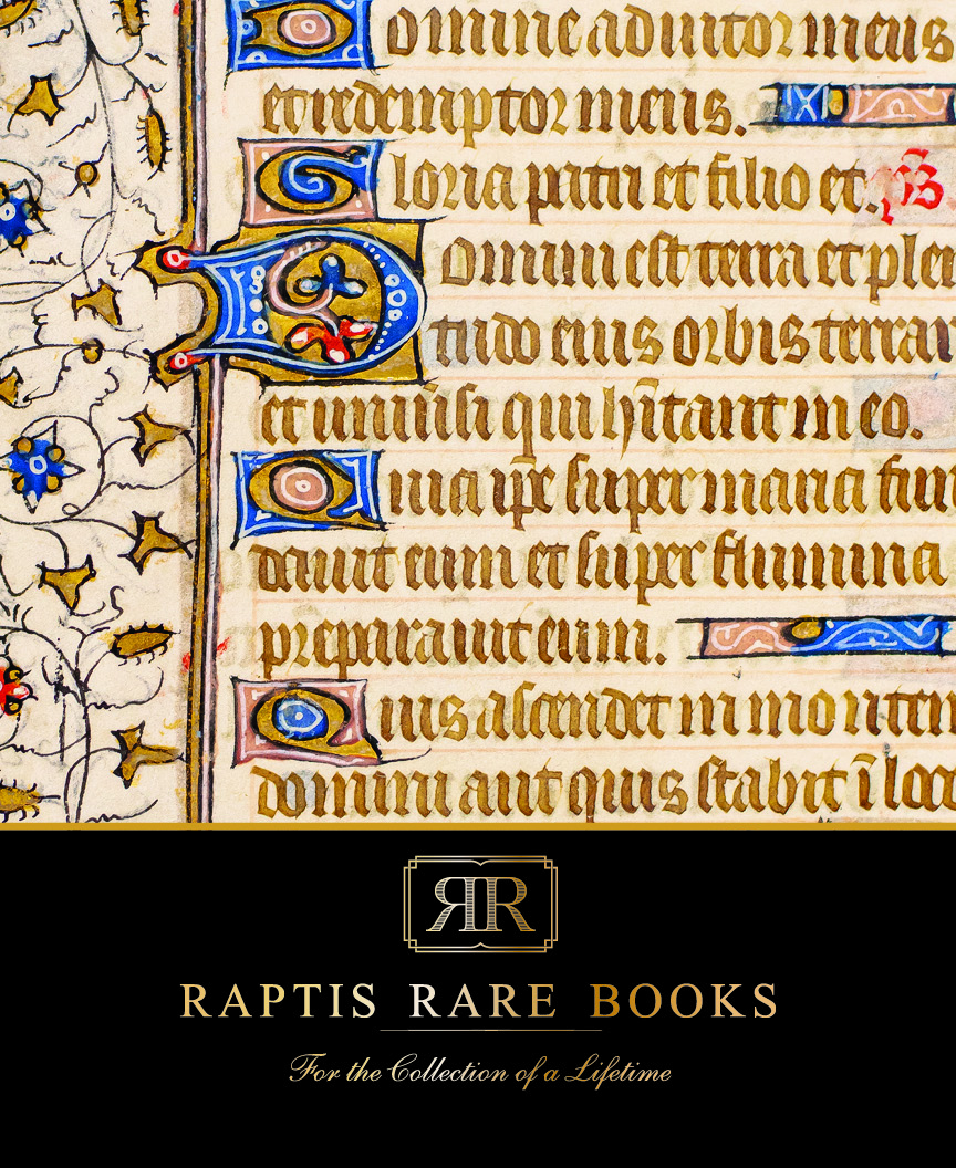Raptis Rare Books Holiday 2020 Catalog