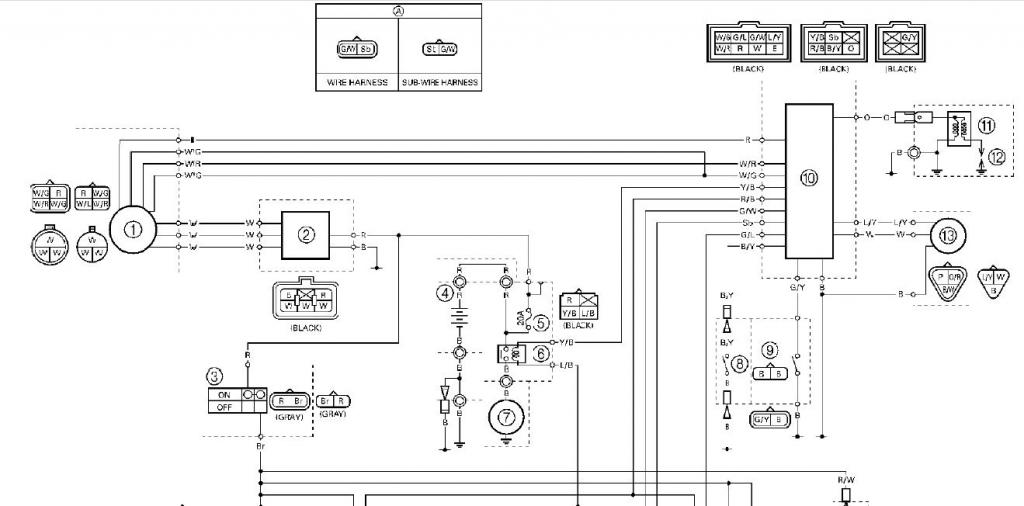 Ex Wiring Diagram I Have Various Random Newbie Questions Yamaha Raptor