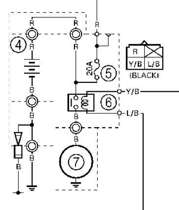 2001 Yamaha Raptor 660 Wiring Diagram. Yamaha. Wiring