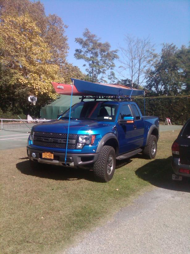 roof rack on there raptor
