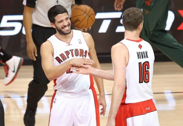 NBA: Milwaukee Bucks at Toronto Raptors