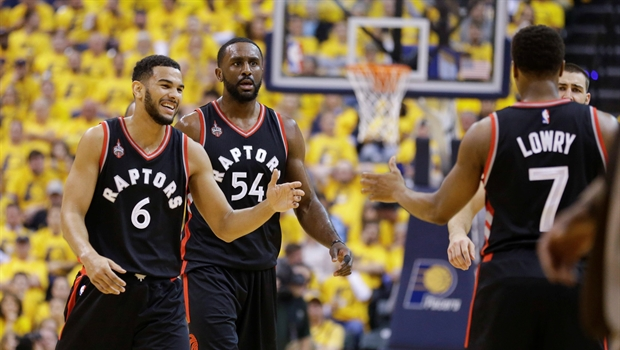 Raps Pacers Game Three
