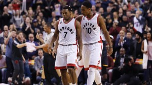 It's all about the 1st quarter for the Toronto Raptors