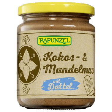 Bio-Product: Coconut & almond butter with date - Rapunzel Naturkost