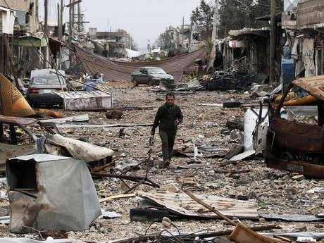 The Syrian town of Kobani has been won back from Isis by Kurdish forces