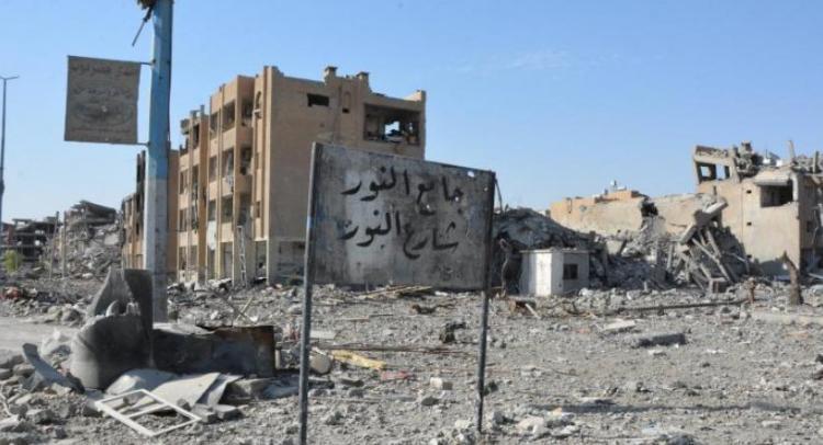 4 اطفال ضحية الالغام في مدينة الرقة