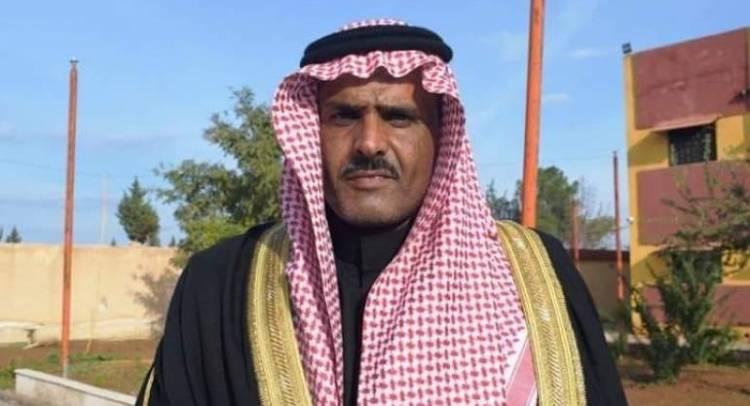 """مقتل شيخ عشيرة """"البو عساف"""" شمال الرقة"""