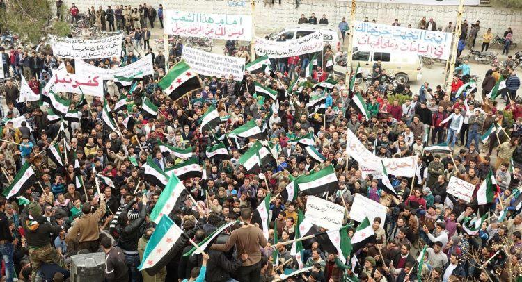 الثورة السوريّة في عامها التاسع