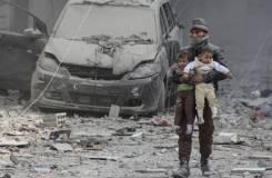 الملتقى الرقة المدني يدين قصف المدنيين في الغوطة الشرقية