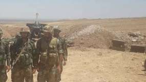 """اتفاق على وقف القتال بين """"داعش"""" ونظام الأسد في بادية السويداء"""
