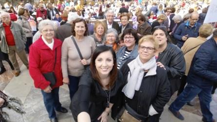 selfie compañeras grupo facebook encuentro unesco valencia