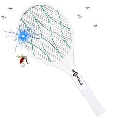 raqueta eléctrica recargable con led extraible