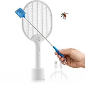 oferta verano matamoscas electrica raqueta llavero mini raquetazo