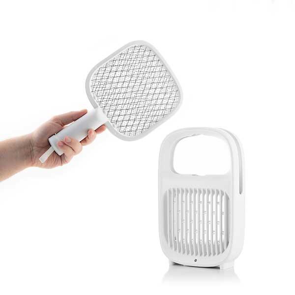 Raquetazo raqueta electrica mata moscas mosquitos insectos