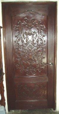 Renaissance Architecture - Carved Leather Panels