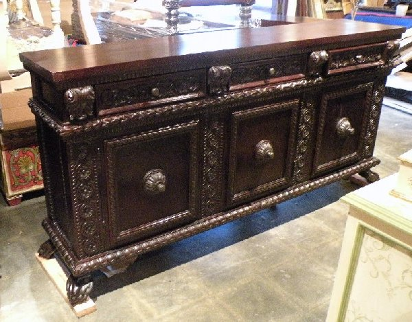 Renaissance Architecture Custom Old World Furniture