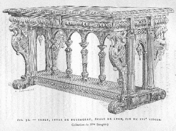 Renaissance Architecture Custom Renaissance Dining Table Renaissance Furniture Old World