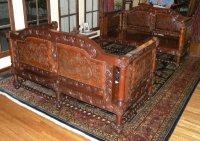 Renaissance Architecture - Spanish Revival Sofa, Tuscan ...