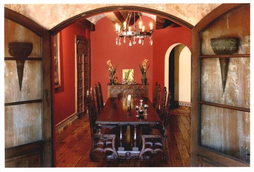 leather kitchen chairs low for fire pit renaissance architectural - old world tuscan interior design calabasas, hidden hills, malibu ...