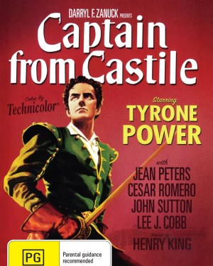 Captain From Castile Rare & Collectible DVDs & Movies