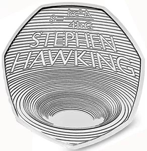 Stephen Hawking Black Hole 50p