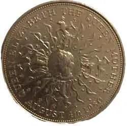 1980 Queen Mother Coin