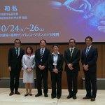 北川先生、佐藤先生、白沢先生、小川先生、眞島、石岡先生(左から)