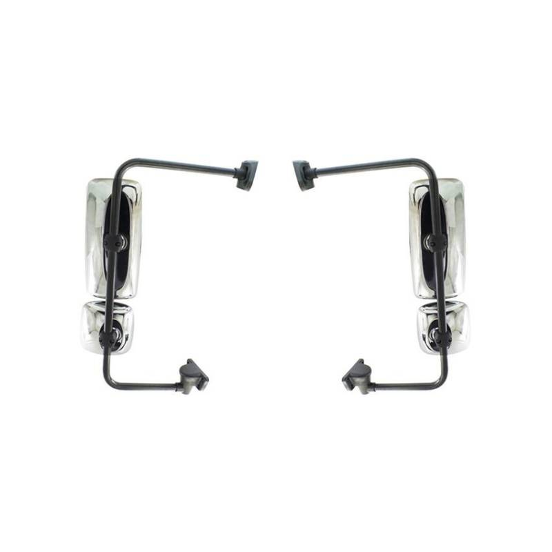 New Door Mirror Pair Fits Freightliner Heavy Duty Columbia