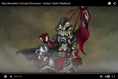 Conker Medieval Concept 09