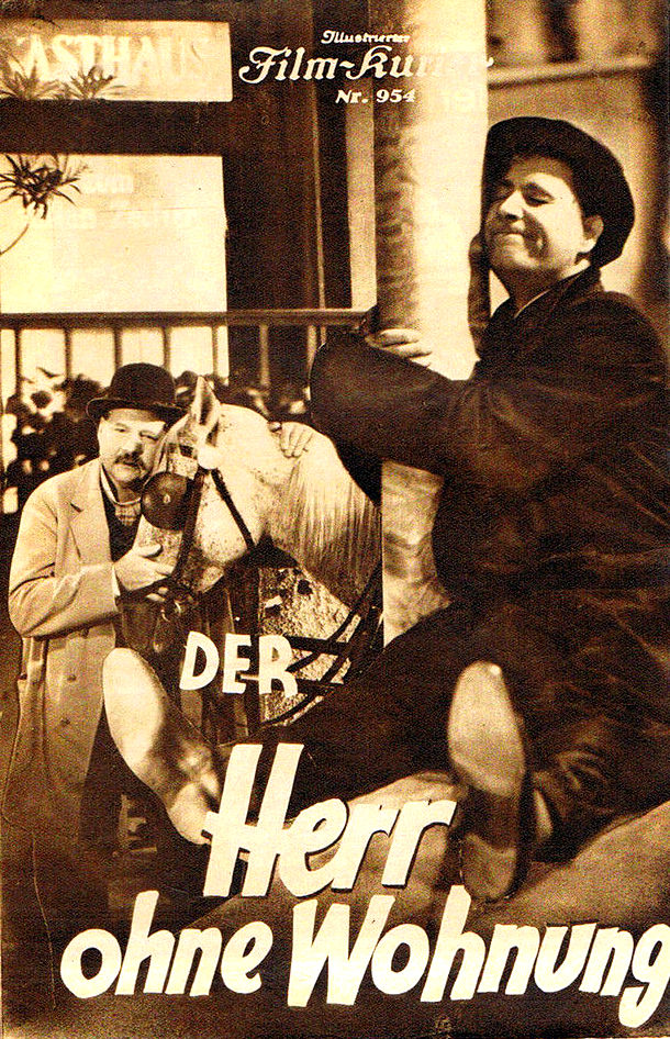 RAREFILMSANDMORECOM DER HERR OHNE WOHNUNG 1934