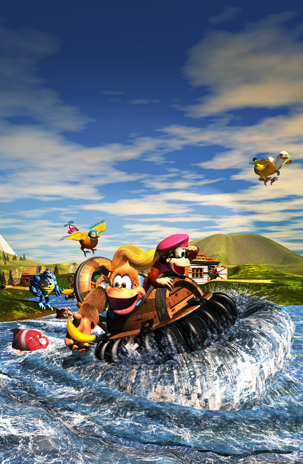 Fall Country Wallpaper Rare Gamer Donkey Kong Country 3 Dixie Kong S Double