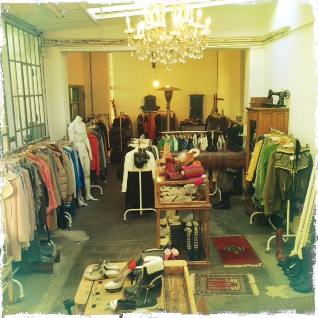 Mode zieht innerhalb des Rarehouse um